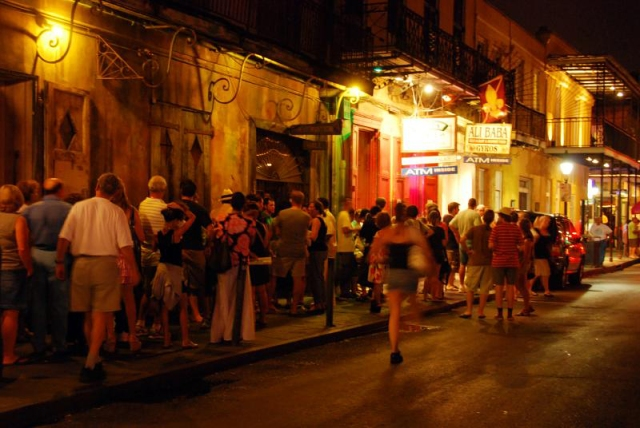 Night life in New Orleans. Photographer: faungg's photos/Creative Commons/Flickr