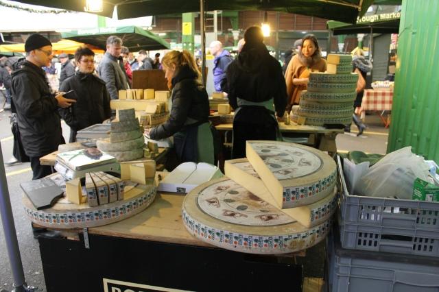 Big cheeses at the Borough Market. Photographer: Paul Wilkinson