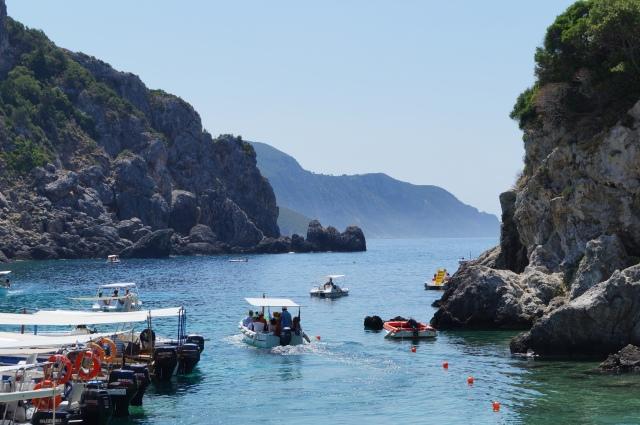 Corfu Paleokastrista beach. Photographer: Petr Aust - Flickr/Creative Commons