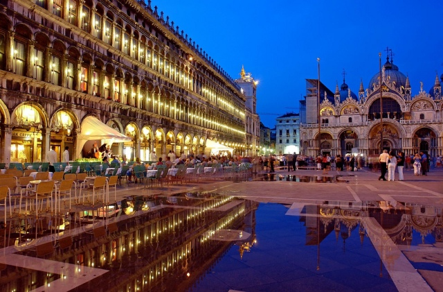 Piazza San Marco, Venice Photographer: Robert Montgomery/Creative Commons/Flickr