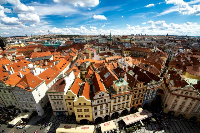 The rooftops of Prague Photographer: Nitin Vyas/flickr.com/Creative Commons
